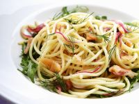 Pasta with Smoked Salmon and Dill recipe