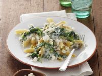 Pasta with Spinach and Cheese recipe