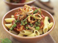 Pasta with Squid and Tomato recipe