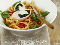 Pasta with Veal Roulades recipe