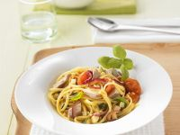 Pasta with Vegetables and Tuna recipe