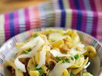 Pasta with Walnuts and Pecorino Cheese recipe