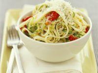 Pasta with Zucchini and Cherry Tomatoes recipe
