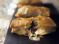Italian Filled Filo Pastries recipe