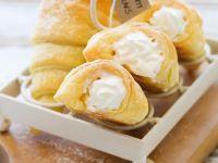Pastry Cones with Cream recipe