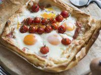 Pâte Feuilletée Egg Tart recipe