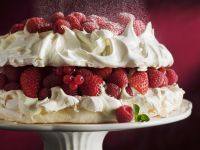 Meringue Gateau with Mixed Berries recipe