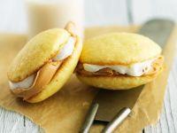 PB and Mallow Cake Sandwiches recipe