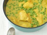 Pea and Chicken Curry recipe