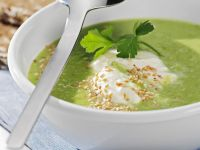 Pea and Lettuce Soup recipe