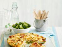 Pea and Prosciutto Frittata recipe