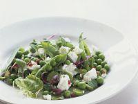 Pea Salad with Ricotta recipe