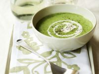 Pea Soup with Mint recipe