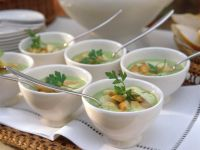 Pea Soup with Smoked Fish recipe