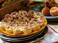 Peach-Almond Tartlets recipe
