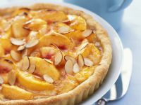 Peach and Almond Tart recipe