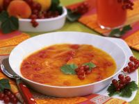 Peach and Currant Soup
