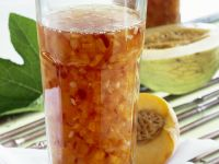 Peach and Ginger Jam with Melon recipe