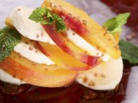 Peach and Mozzarella Salad recipe