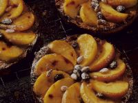 Peach and Raisin Cake recipe