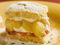 Stone Fruit Biscuit Sandwich recipe