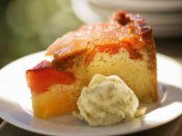 Peach and Ricotta Cake recipe