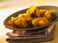 Peach and Saffron Chutney recipe