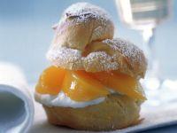 Peach Choux Buns recipe