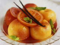 Peaches in Citrus Syrup recipe