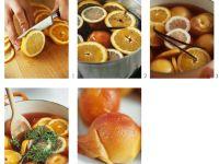 Peaches Poached in White Wine recipe