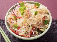Peanut and Cucumber Noodle Salad recipe