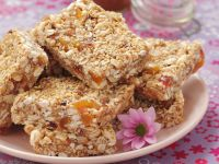 Peanut and Oat Sqaures recipe