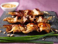 Peanut Chicken Kebabs recipe