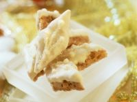 Peanut Diamonds with White Chocolate recipe