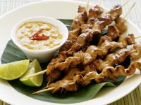 Peanut Pork Skewers recipe