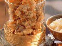 Peanut-Sesame Brittle recipe