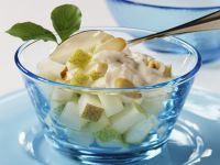 Pear and Almond Salad recipe