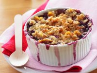 Pear and Blueberry Crumble recipe