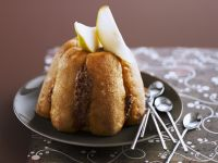 Pear and Chocolate Charlotte recipe