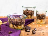 Pear and Chocolate Crumble recipe