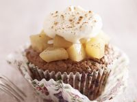 Pear and Ginger Cupcakes recipe