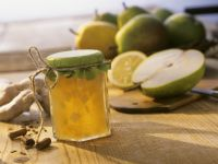 Pear and Ginger Jam with Cinnamon recipe