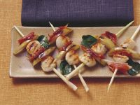 Pear and Scallop Kebabs recipe