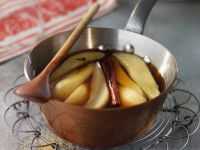 Pear Compote with Whiskey recipe