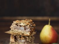 Pear Granola Bars recipe