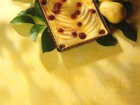 Pear Raspberry Tart