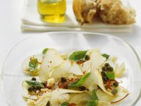 Pear Salad with Chile and Basil recipe