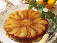 Pear Tarte Tatin recipe