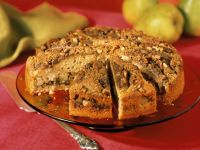 Pear Walnut Cake recipe