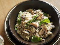 Pearl Barley Mushroom Risotto recipe